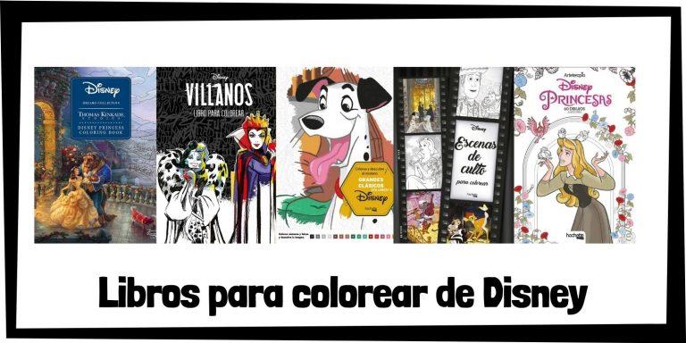 Guia de Libros para colorear de Disney Los mejores libros de colorear de Disney HOME