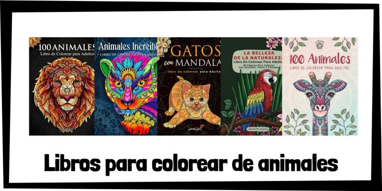 Guia de Libros para colorear de animales Los mejores libros de colorear de animales HOME