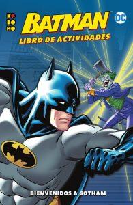 Libro de actividades de Batman Los mejores libros para colorear de Batman de DC