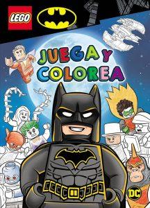 Libro de actividades de LEGO Batman 2 Los mejores libros para colorear de Batman de DC