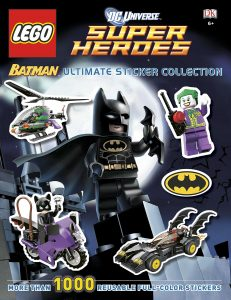 Libro de actividades de LEGO Batman 3 Los mejores libros para colorear de Batman de DC
