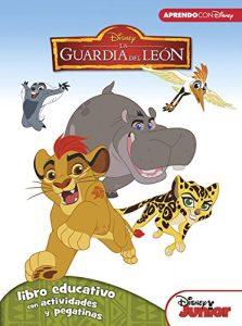Libro educativo del Rey Leon Los mejores libros para colorear del Rey Leon de Disney