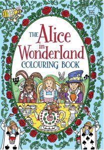 Libro para colorear de Alice in Wonderland de 32 paginas Los mejores libros para colorear de Alice in Wonderland de Disney