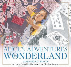Libro para colorear de Alice in Wonderland de 40 paginas Los mejores libros para colorear de Alice in Wonderland de Disney