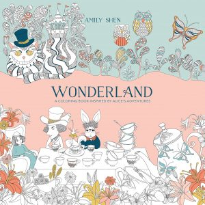 Libro para colorear de Alice in Wonderland de 80 paginas Los mejores libros para colorear de Alice in Wonderland de Disney
