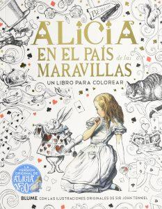 Libro para colorear de Alicia en el Pais de las Maravillas para colorear de 50 paginas Los mejores libros para colorear de Alicia en el pais de las Maravillas