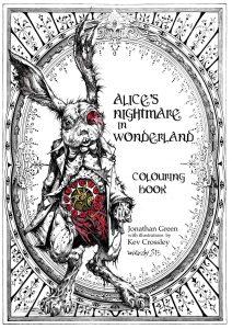Libro para colorear de Alicia en el pais de las maravillas para colorear de 25 dibujos Los mejores libros para colorear de Alicia en el pais de las Maravillas