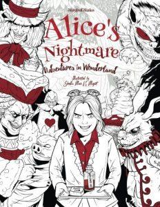 Libro para colorear de Alicia en el pais de las maravillas para colorear de 40 paginas Los mejores libros para colorear de Alicia en el pais de las Maravillas