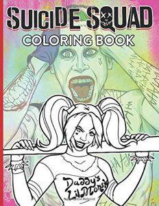 Libro para colorear de Batman Escuadron Suicida Los mejores libros para colorear de Batman