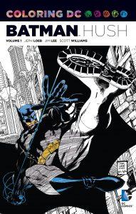 Libro para colorear de Batman Hush Los mejores libros para colorear de Batman