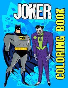 Libro para colorear de Batman JOKER Los mejores libros para colorear de Batman