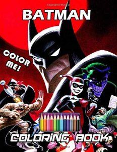 Libro para colorear de Batman de 25 paginas Los mejores libros para colorear de Batman