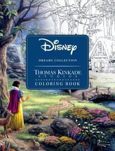 Libro para colorear de Disney de Thomas Kinkade 2 Libros para colorear de Disney