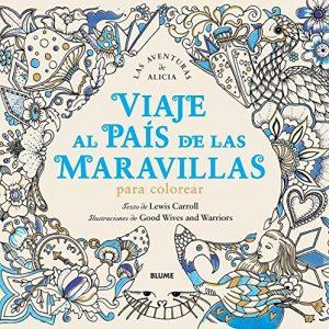 Libro para colorear de Viaje al Pais de las Maravillas Una aventura para colorear de 60 paginas Los mejores libros para colorear de Alicia en el pais de las Maravillas