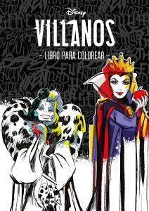 Libro para colorear de villanos de Disney Los mejores libros para colorear de Disney