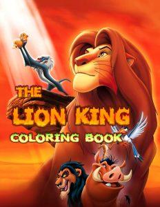 Libro para colorear del Rey Leon de 100 paginas 2 Los mejores libros para colorear del Rey Leon de Disney