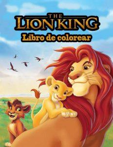 Libro para colorear del Rey Leon de 24 paginas Los mejores libros para colorear del Rey Leon de Disney