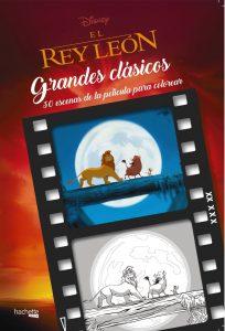 Libro para colorear del Rey Leon de 30 paginas Los mejores libros para colorear del Rey Leon de Disney