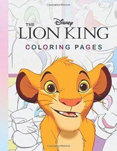 Libro para colorear del Rey Leon de 44 paginas 2 Los mejores libros para colorear del Rey Leon de Disney