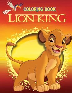 Libro para colorear del Rey Leon de 44 paginas 3 Los mejores libros para colorear del Rey Leon de Disney