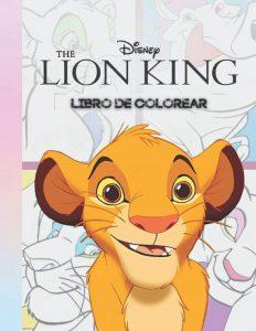 Libro para colorear del Rey Leon de 44 paginas Los mejores libros para colorear del Rey Leon de Disney