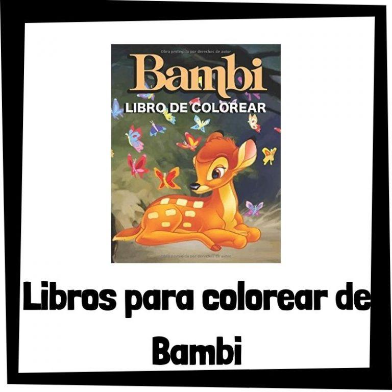 Lee más sobre el artículo Libros para colorear de Bambi