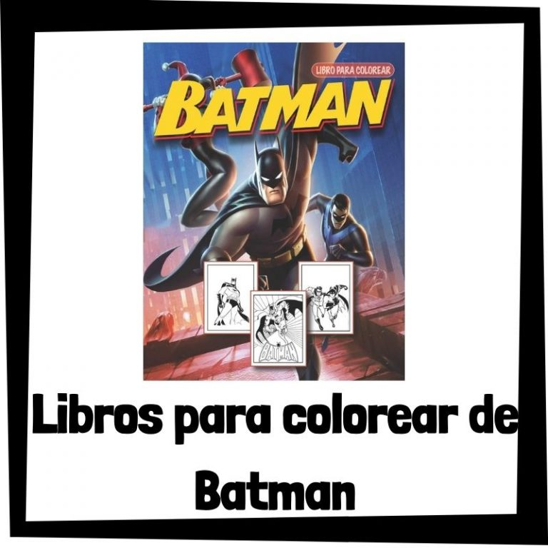 Lee más sobre el artículo Libros para colorear de Batman