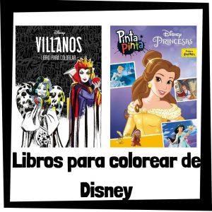 Libros para colorear de Disney Los mejores libros de colorear de Disney Libro de Disney para colorear