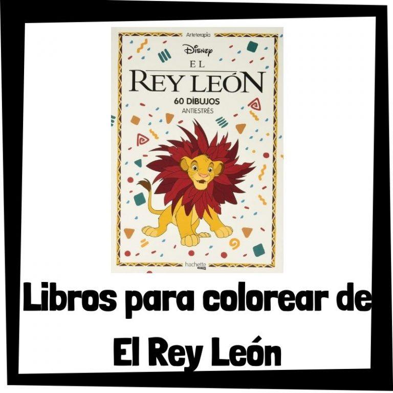 Lee más sobre el artículo Libros para colorear de El Rey León