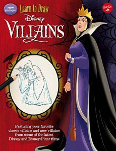 Aprender a dibujar a villanos de Disney Los mejores libros para colorear de villanos de Disney