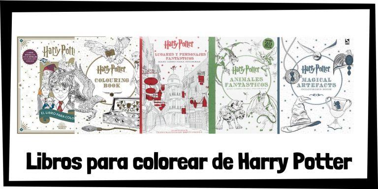 Guia de Libros para colorear de Harry Potter Los mejores libros de colorear de Harry Potter HOME