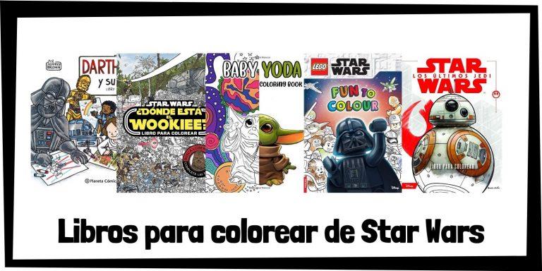 Guia de Libros para colorear de Star Wars Los mejores libros de colorear de Star Wars HOME