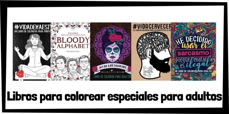Guia de Libros para colorear de especiales para adultos Los mejores libros de colorear de especiales HOME