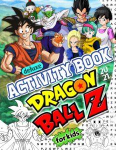 Libro de actividades de Dragon Ball Z de 50 paginas 2 Los mejores libros para colorear de Dragon Ball Z