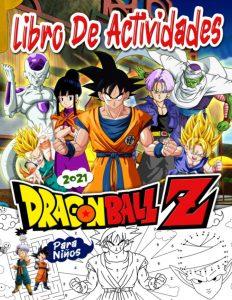 Libro de actividades de Dragon Ball Z de 50 paginas Los mejores libros para colorear de Dragon Ball Z