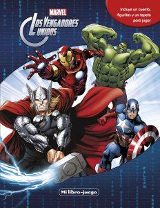 Libro de actividades de Marvel de 12 paginas Los mejores libros para colorear de los Vengadores de Marvel