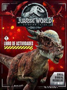 Libro Para Actividades De Jurassic World De 32 Páginas – Los Mejores Libros Para Colorear De Dinosaurios De Jurassic World Y Jurasssic Park