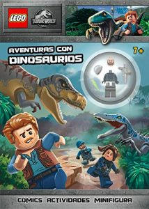 Libro Para Actividades De Jurassic World De Lego De 64 Páginas - Los Mejores Libros Para Colorear De Dinosaurios De Jurassic World Y Jurasssic Park