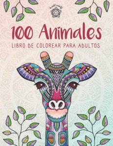 Libro Para Colorear De 100 Animales De 100 Páginas – Los Mejores Libros Para Colorear De Lobos Y Animales
