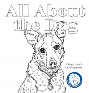 Libro Para Colorear De All About The Dog De 88 Páginas – Los Mejores Libros Para Colorear De Perros Y Animales