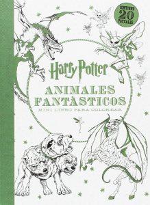 Libro para colorear de Animales fantasticos de 20 paginas Los mejores libros para colorear de Harry Potter