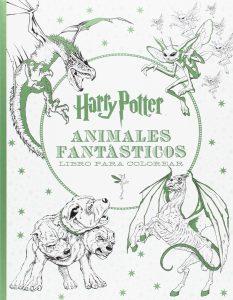 Libro para colorear de Animales fantasticos de 96 paginas Los mejores libros para colorear de Harry Potter