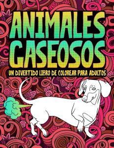 Libro para colorear de Animales gaseosos de 31 paginas Los mejores libros para colorear de humor negro