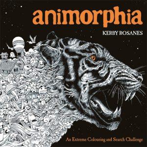 Libro Para Colorear De Animorphia De Animales De 96 Páginas 2 – Los Mejores Libros Para Colorear De Lobos Y Animales