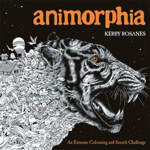 Libro Para Colorear De Animorphia De Animales De 96 Páginas 2 – Los Mejores Libros Para Colorear De Perros Y Animales