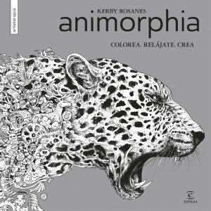 Libro Para Colorear De Animorphia De Animales De 96 Páginas – Los Mejores Libros Para Colorear De Lobos Y Animales
