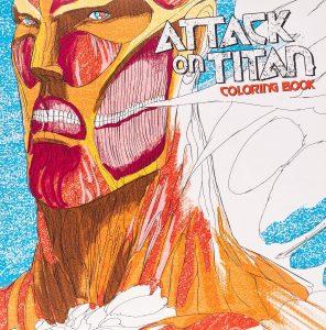 Libro para colorear de Ataque a los titanes de 64 paginas Los mejores libros para colorear de Ataque a los titanes Attack on titan