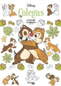 Libro Para Colorear De Colegas De Disney De 60 Páginas – Los Mejores Libros Para Colorear De Disney Pixar