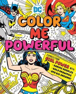 Libro para colorear de DC Super Hero Girls de 144 paginas Los mejores libros para colorear de personajes de DC La Liga de la Justicia