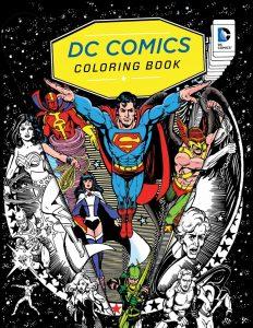 Libro para colorear de DC de 96 paginas Los mejores libros para colorear de personajes de DC La Liga de la Justicia